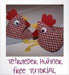 Tetraeder Hühner
